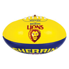 Sherrin AFL Brisbane Lions Softie Ball, , rebel_hi-res
