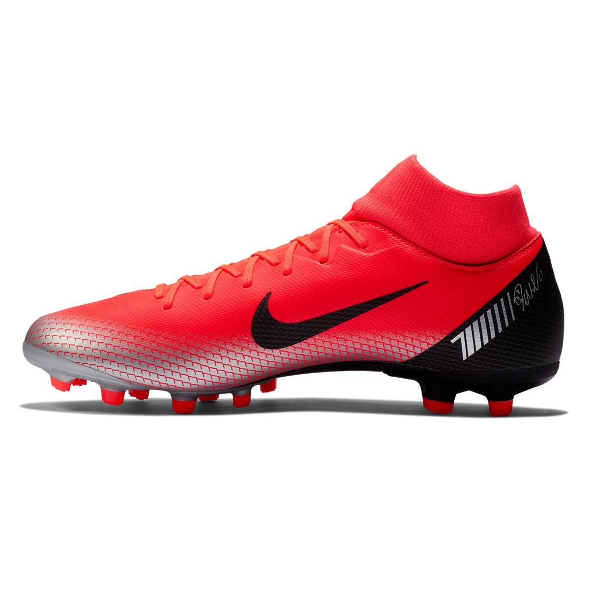 Nike Men White MERCURIAL VORTEX III CR7 Football Shoes
