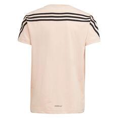 adidas x Marimekko Girls Unikko 3-Stripes Tee Blush 8, Blush, rebel_hi-res