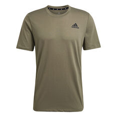 Adidas Mens Primegreen Training Tee Brown XS, Brown, rebel_hi-res