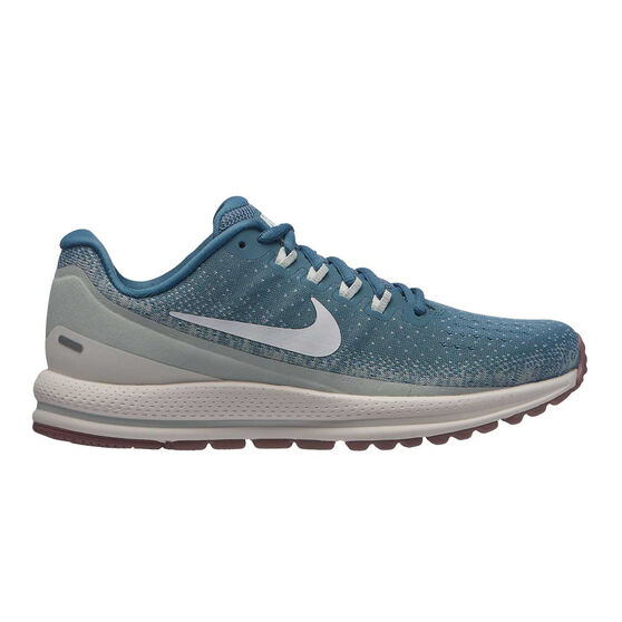 Nike Air Zoom Vomero 13 Womens Running Shoes, Blue / White, rebel_hi-res