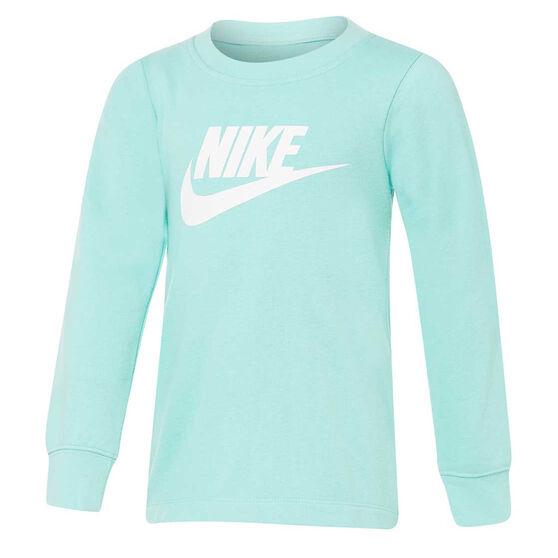 Nike Girls Futura Sweatshirt, Blue, rebel_hi-res