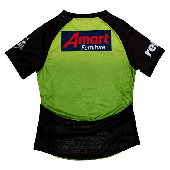 Sydney Thunder 2019 WBBL Womens Jersey Green S, Green, rebel_hi-res