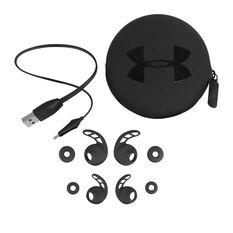 Under Armour Pivot Wireless Sports In Earphones Black, Black, rebel_hi-res