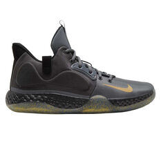 Nike KD Trey 5 VII Mens Basketball Shoes Grey / Gold US 7, Grey / Gold, rebel_hi-res