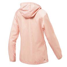 Ell & Voo Womens Kiah Woven Workout Jacket Pink XS, Pink, rebel_hi-res