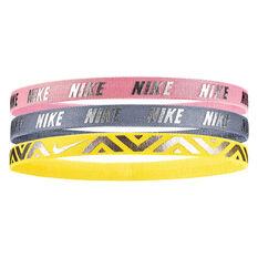 Nike Girls Metallic Hairbands, , rebel_hi-res
