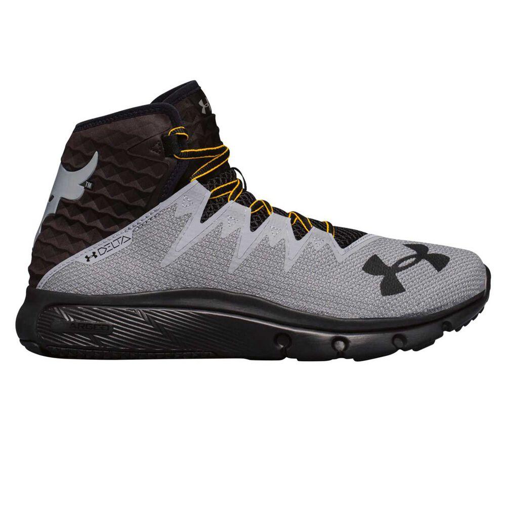 size 40 07c96 b2583 ... Under Armour Project Rock Delta x CG Mens Training Shoes Black Gold US  8.5, ...