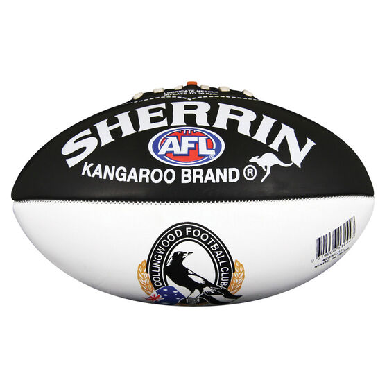 Sherrin AFL Collingwood Magpies Softie Ball, , rebel_hi-res