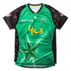 Melbourne Stars 2019 Mens Jersey, Green, rebel_hi-res