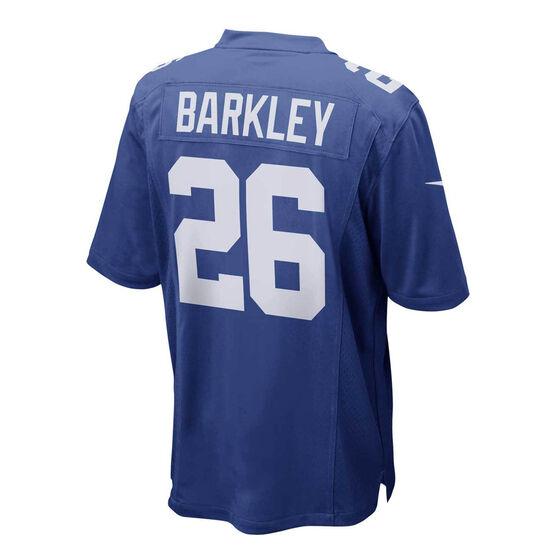 New York Giants Saquon Barkley Mens Jersey, Blue, rebel_hi-res