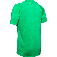 Under Armour Mens Tech Tee Green XS, Green, rebel_hi-res