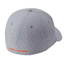 Under Armour Boys Printed Blitzing 3.0 Cap Grey / Orange XS / S, Grey / Orange, rebel_hi-res