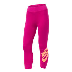 Nike Girls VF VSW Futura FT Pant Pink 4, Pink, rebel_hi-res
