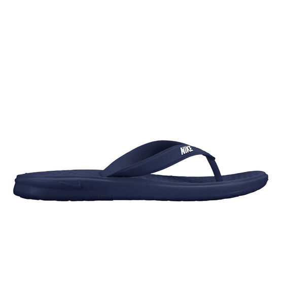 Nike Solay Mens Thongs Blue / White US 9, Blue / White, rebel_hi-res