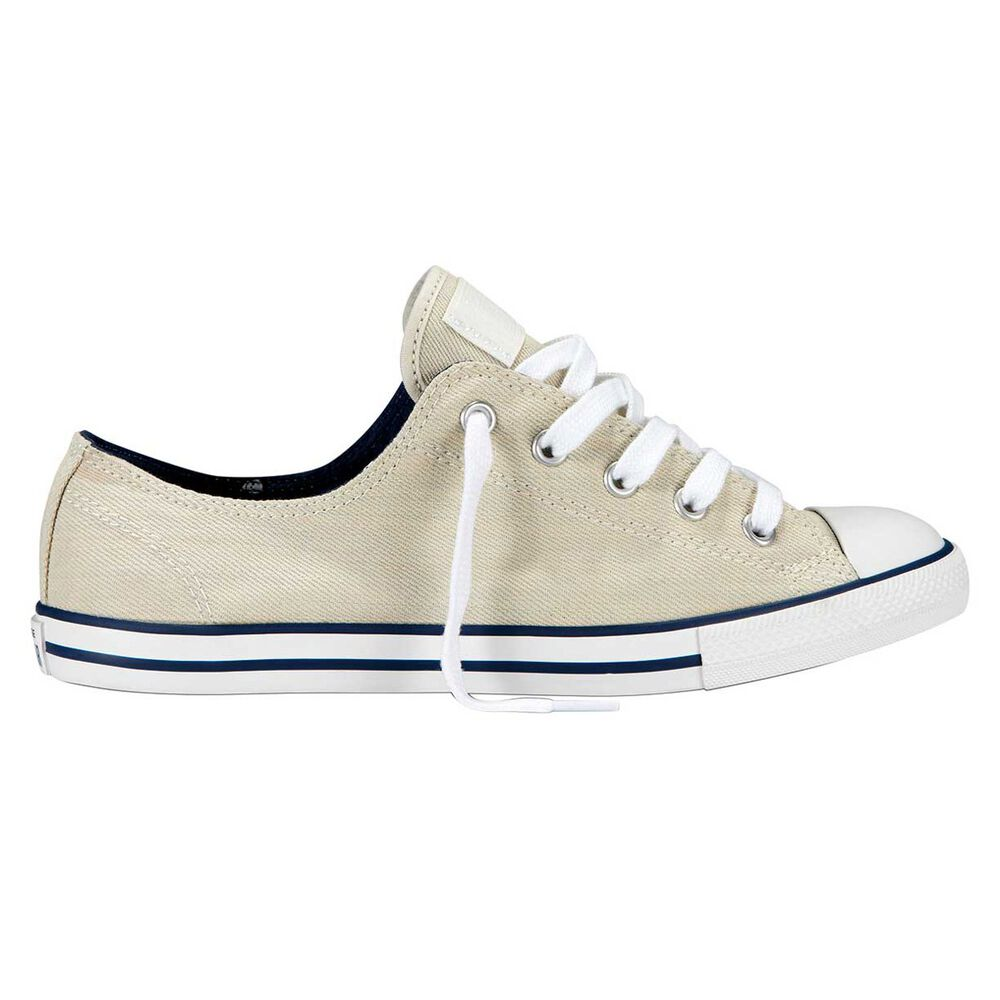 2aab188db31e Converse All Star Dainty Ox Mono Womens Casual Shoes Off White US 5 ...