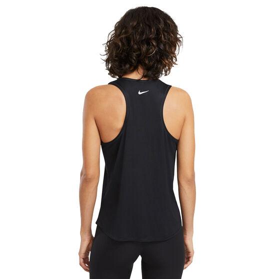 Nike Womens Swoosh Run Tank, Black, rebel_hi-res