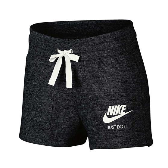 Nike Womens Vintage Gym Shorts Black XS Adult  173a64917