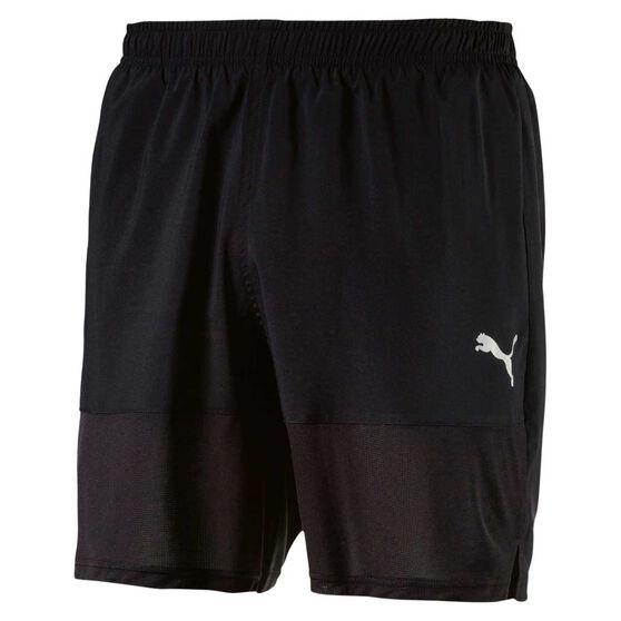 Puma  Mens Ignite 7in Training Shorts, Black, rebel_hi-res
