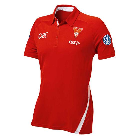 Sydney Swans 2019 Mens Polo, Red / White, rebel_hi-res