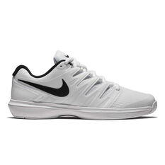 NikeCourt Air Zoom Prestige Mens Tennis Shoes White / Black US 7, White / Black, rebel_hi-res