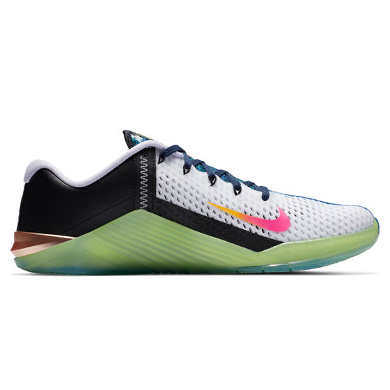 Nike Metcon 6 X Mens Training Shoes, Black/Volt, rebel_hi-res