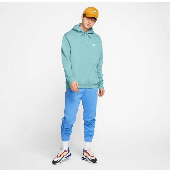 Nike Sportswear Mens Club Fleece Pullover Hoodie, Green, rebel_hi-res
