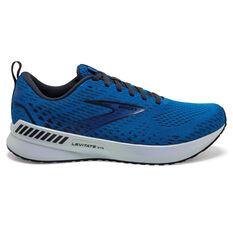 Brooks Levitate GTS 5 Mens Running Shoes Blue/White US 8, Blue/White, rebel_hi-res