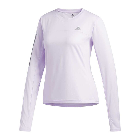 adidas Womens Own the Run Top, Purple, rebel_hi-res