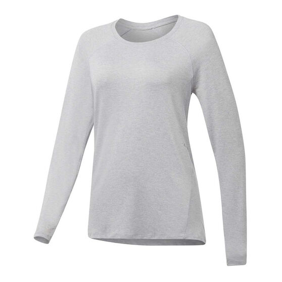 Ell & Voo Womens Sophie Top, Silver, rebel_hi-res