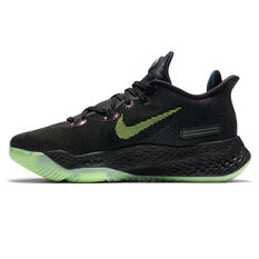 Nike Air Zoom BB Next % Mens Basketball Shoes Black/Green US 7, Black/Green, rebel_hi-res