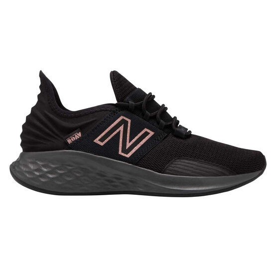 New Balance Fresh Foam Roav Womens Running Shoes Black / Rose Gold US 6.5, Black / Rose Gold, rebel_hi-res