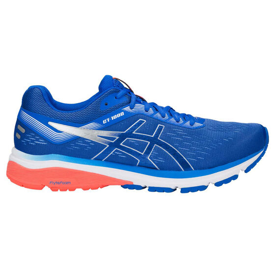 Asics GT 1000 7 Mens Running Shoes Blue / Silver 12, Blue / Silver, rebel_hi-res