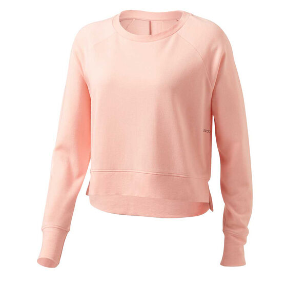 Ell & Voo Womens Rocky Crew Sweatshirt, Pink, rebel_hi-res