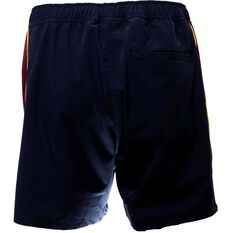 Brisbane Lions 2019 Men's Training Shorts Black S, Black, rebel_hi-res