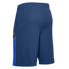 Under Armour Mens Baseline 10in Shorts Blue S, Blue, rebel_hi-res