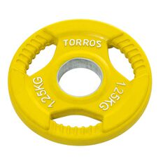 Torros 1.25kg Olympic Plate, , rebel_hi-res
