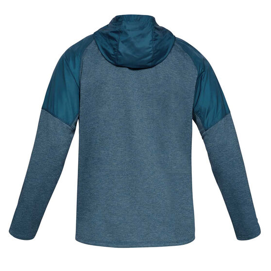 Under Armour Mens MK 1 Terry Hoodie, Blue, rebel_hi-res