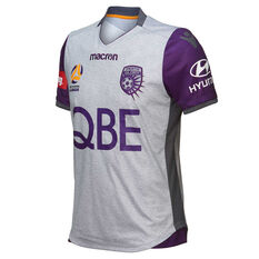 Perth Glory 2018 / 19 Mens 3rd Jersey Purple S, Purple, rebel_hi-res