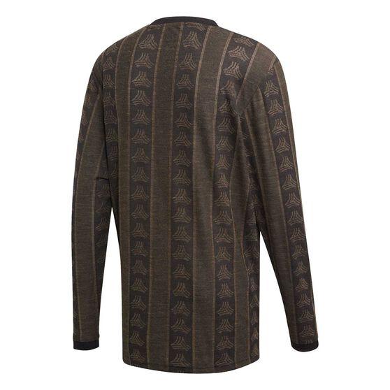 adidas Mens TAN Advanced Jersey, Black, rebel_hi-res