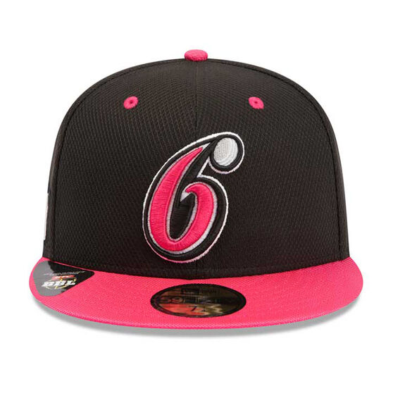 Sydney Sixers New Era 59FIFTY Away Cap Magenta 7 1 / 4in, , rebel_hi-res