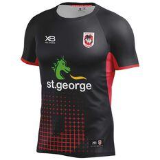 St. George Illawarra Dragons 2018 Mens Training Tee, , rebel_hi-res