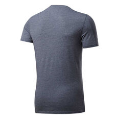 Reebok Mens ACTIVCHILL + Cotton Training Tee Blue S, Blue, rebel_hi-res