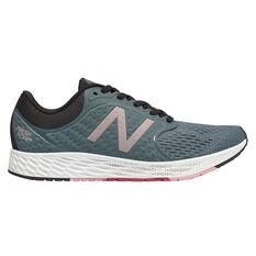 New Balance Zante Womens Running Shoes Grey / White US 7.5, Grey / White, rebel_hi-res