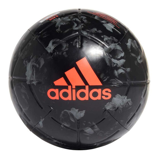 adidas Manchester United Capitano Soccer Ball Black / Grey 5, Black / Grey, rebel_hi-res