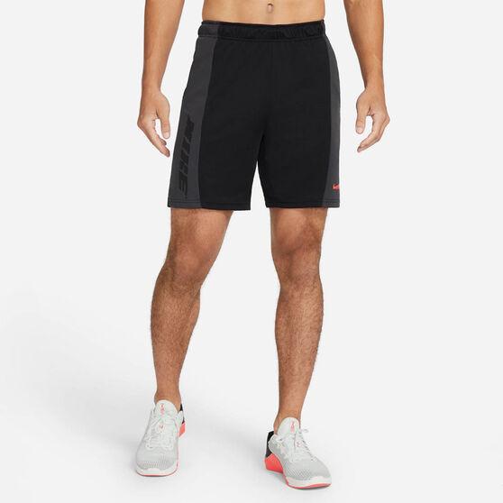 Nike Mens Dri-FIT Training Shorts Black S, Black, rebel_hi-res