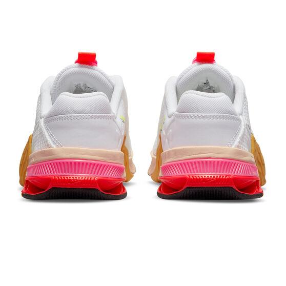 Nike Metcon 7 X Womens Training Shoes, White/Black, rebel_hi-res