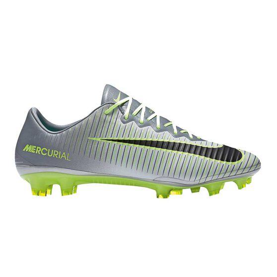 10e8cf0911ac Nike Mercurial Vapor XI Mens Football Boots White / Blue US 11.5 Adult,  White /