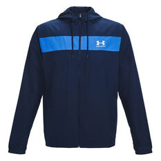 Under Armour Mens Sportstyle Windbreaker, Navy, rebel_hi-res
