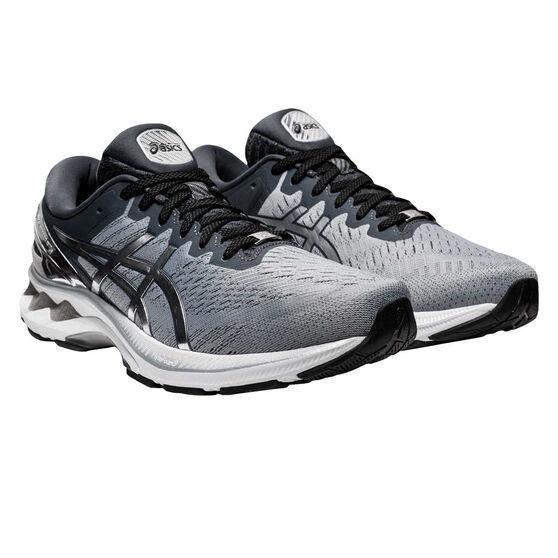 Asics GEL Kayano 27 Platinum Mens Running Shoes, Grey/Silver, rebel_hi-res